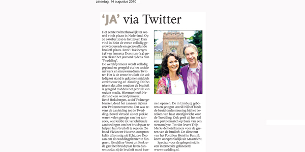 Ja_via_twitter_Dagblad_de_Limburger__weddingplanner