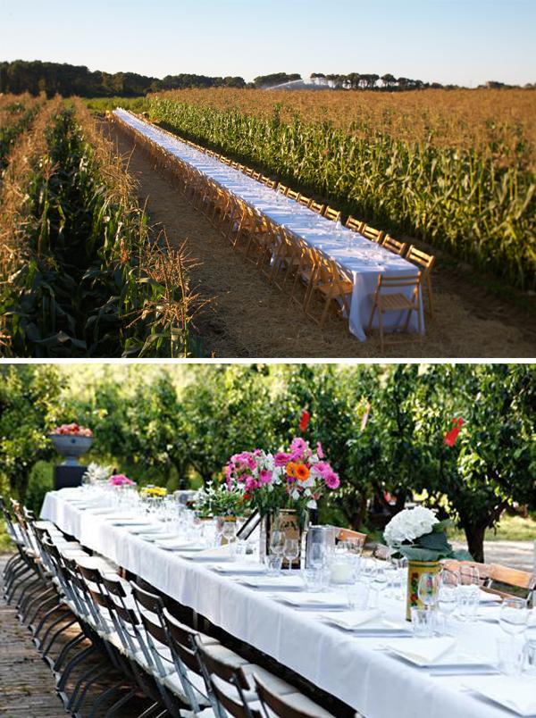 dinertafels bruiloft_landelijk