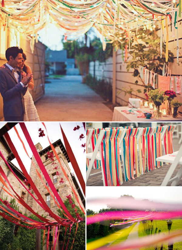 Linten aankleding_bruiloft
