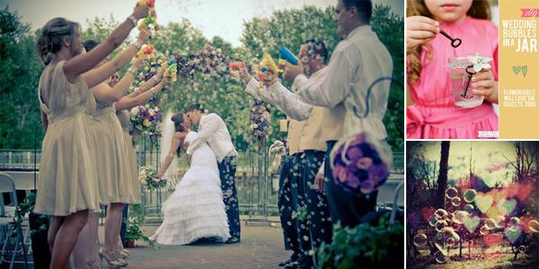 Bellenblazen Bruiloft
