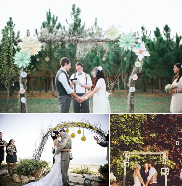 Boog Prieel bruiloft