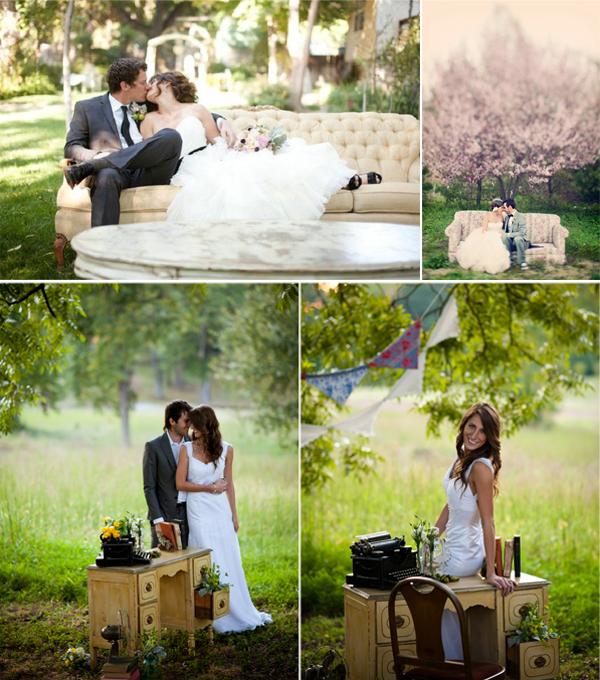Gestylde shoot op je bruiloft