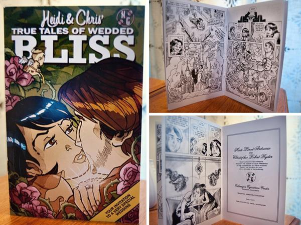 Stripboek als uitnodiging