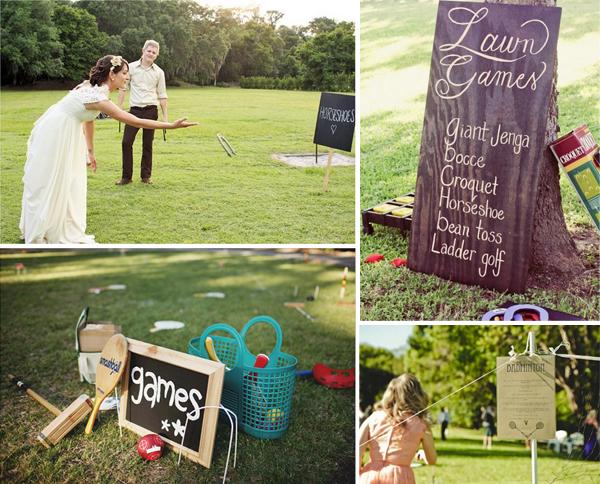 Leuke spellen op je bruiloft
