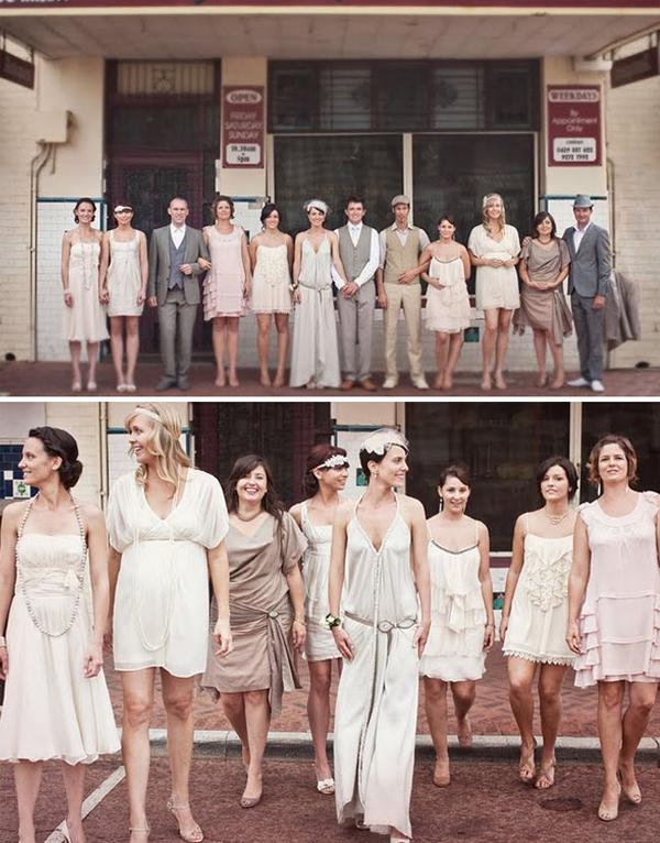Vintage bruiloft dresscode