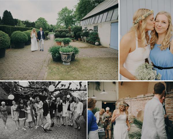Bruiloft in de wijngaard