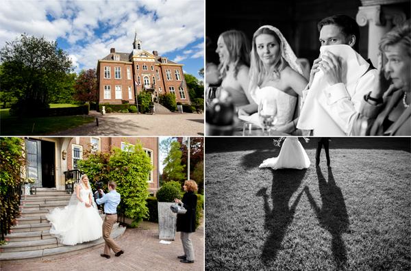 Bruiloft op Kasteel Hoekelum
