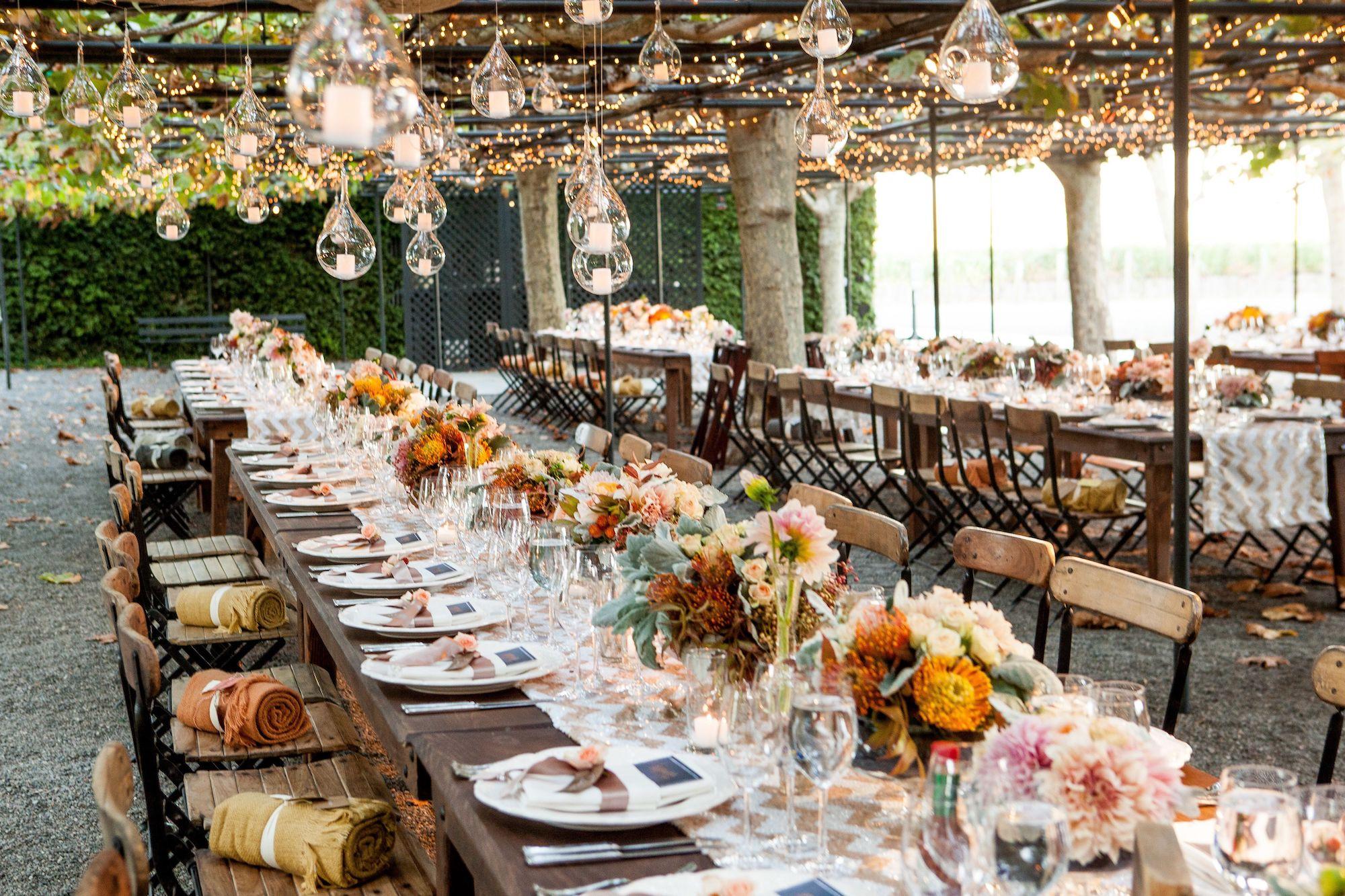 Wedding trend: chevron decoration