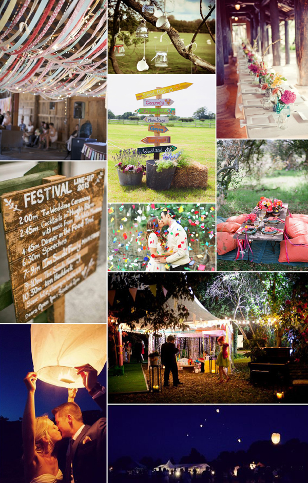 Festival Wedding Decoratie