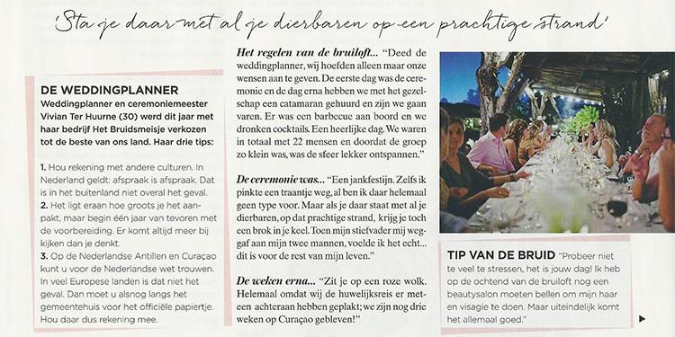 Nieuws - VROUW magazine - droom van een bruiloft