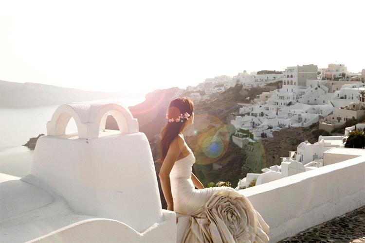 Bruiloft Santorini