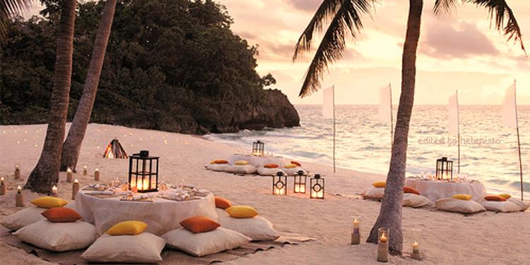 trouwen op een eiland