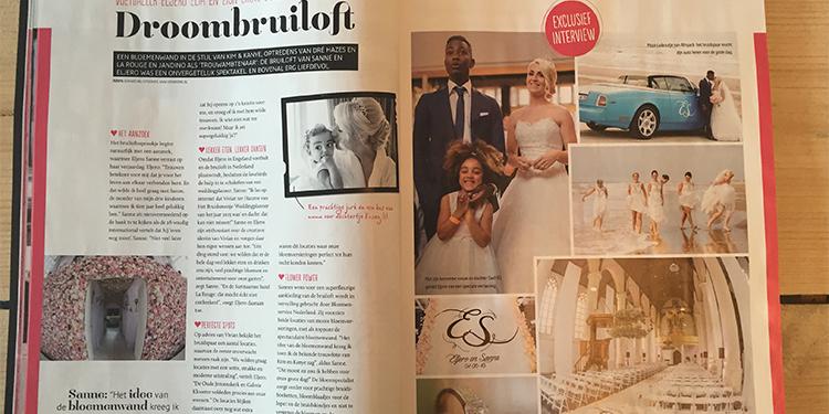 Bruiloft Sanne Eljero Magazine