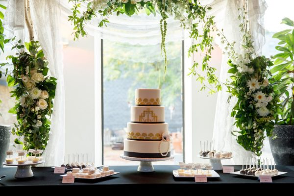 Wedding inspiration: dessert tables