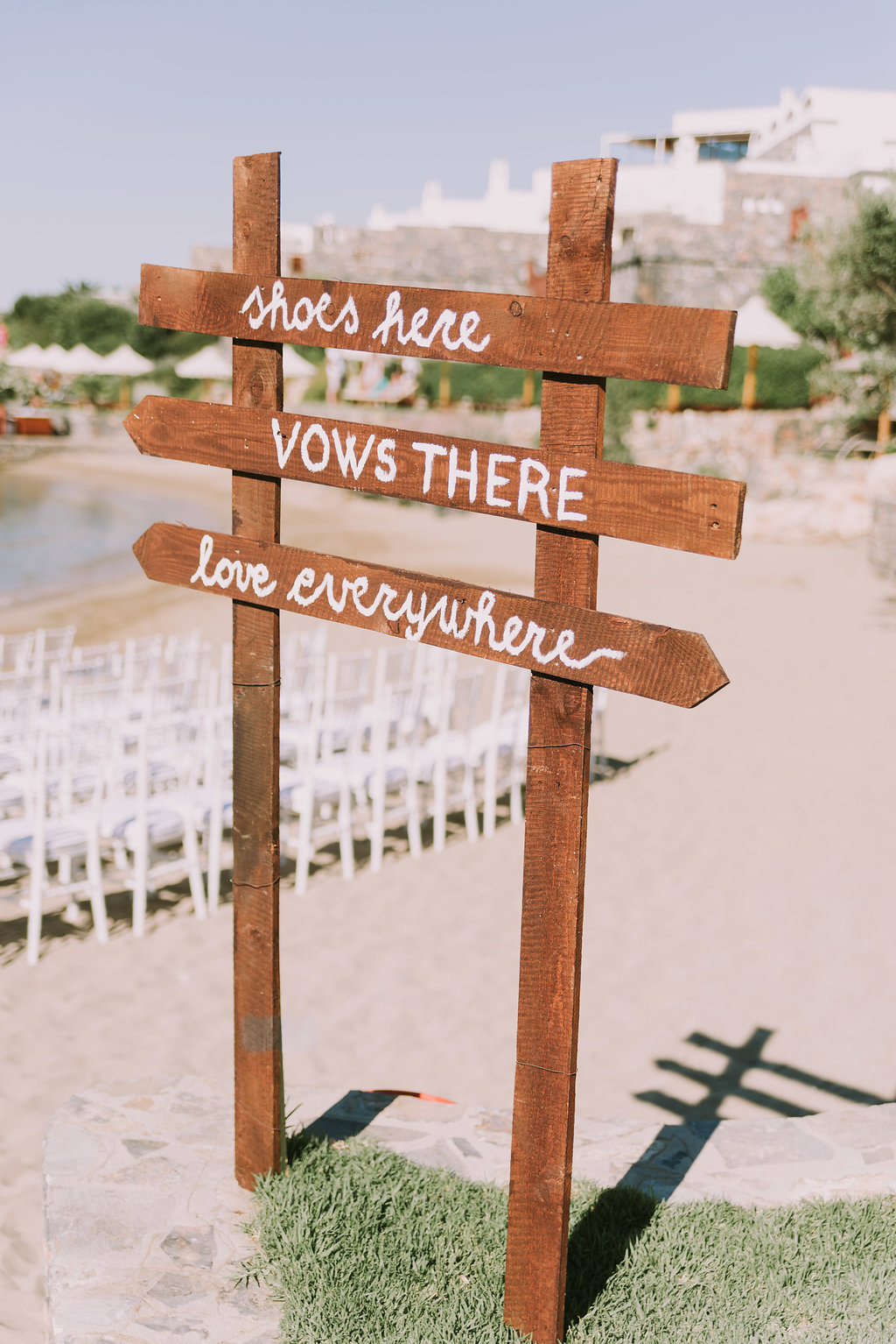 Greek Dutch bohemian wedding on Crete