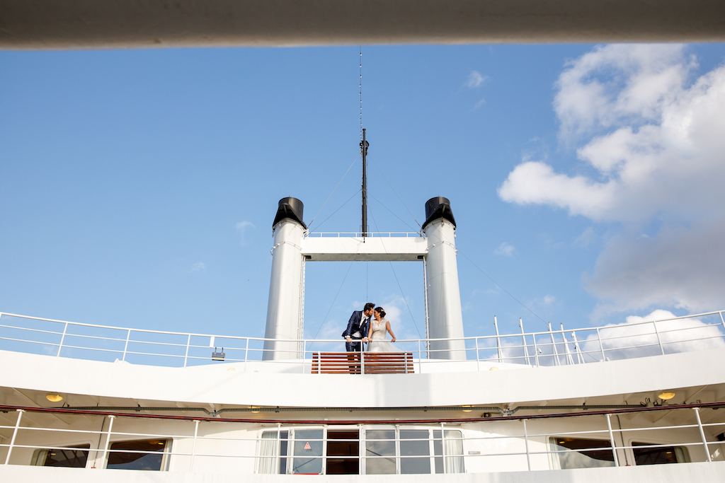 Tying the knot at the SS Rotterdam