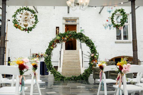 Een schitterende bruiloft op Chateau de Raay