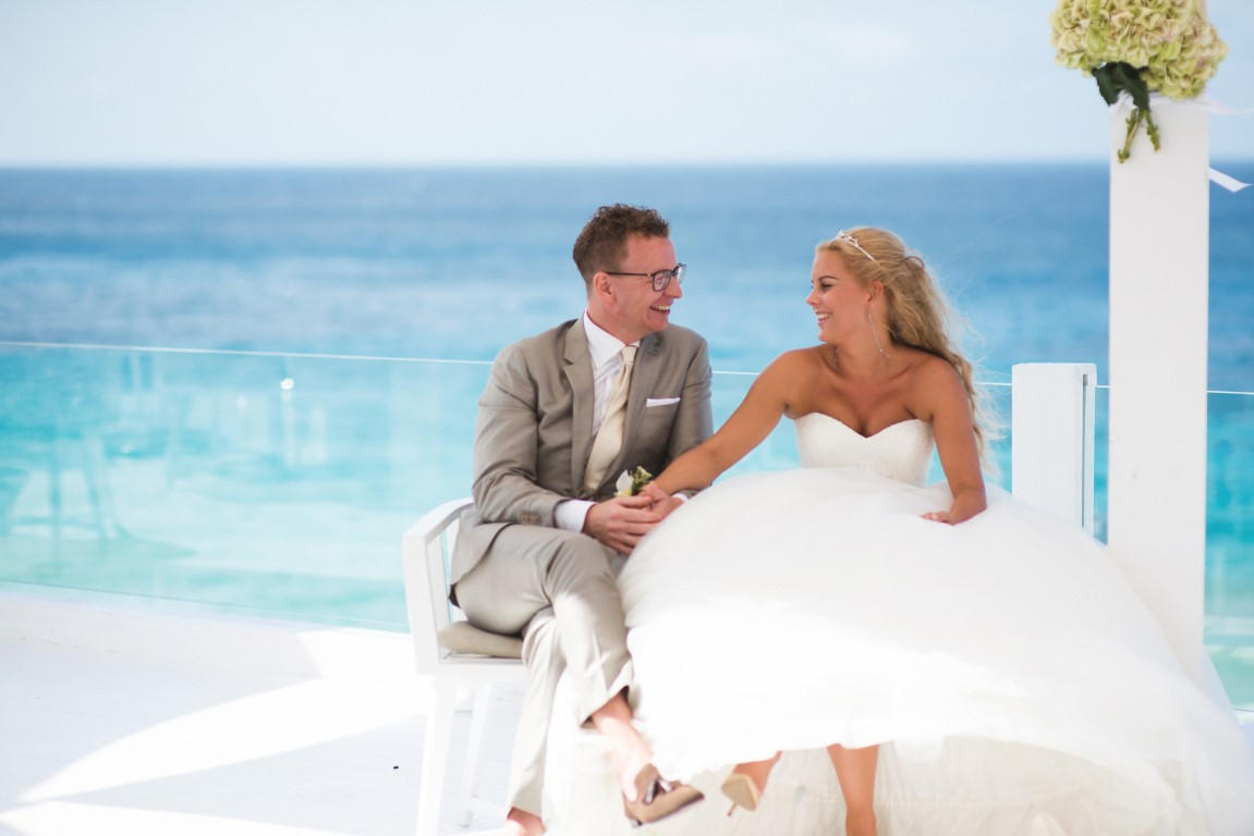 White Wedding Ibiza at the Cotton Beach Club