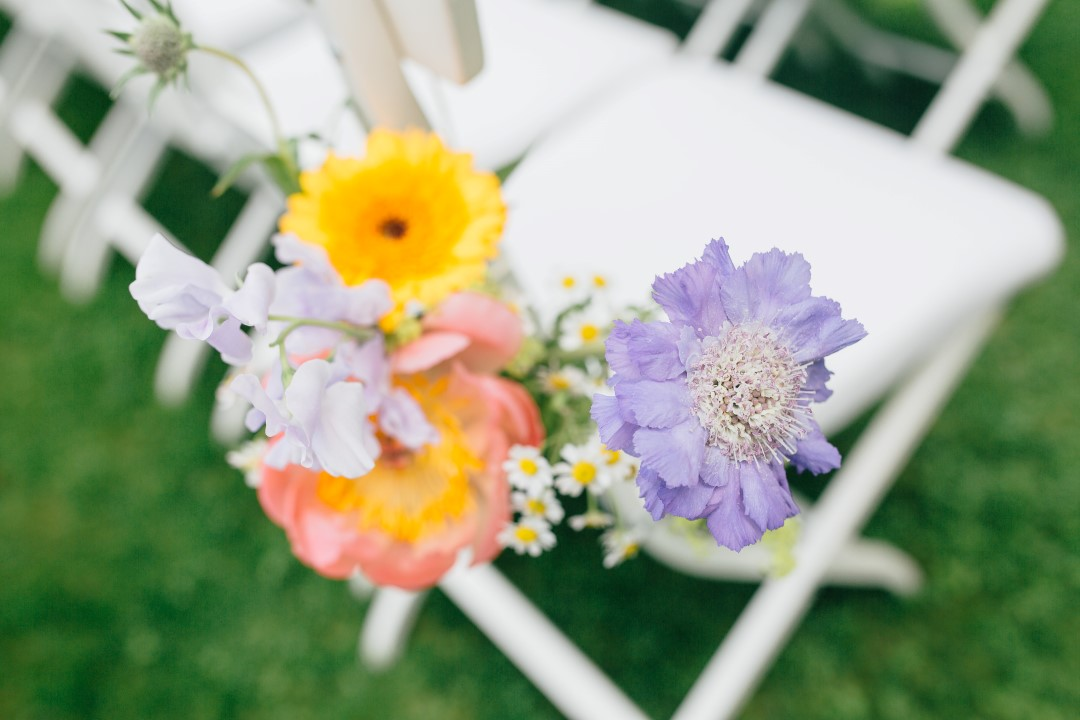 Inspiration wedding: chairs with a twist