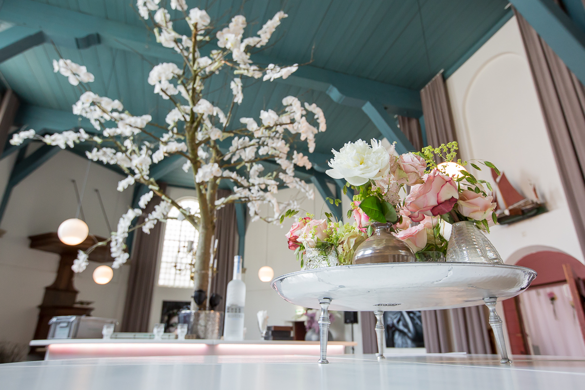 Stylish romantic chic wedding in Noordwijk