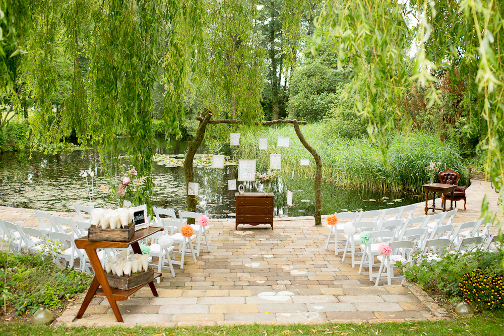 Rustic Vintage Backyard Wedding