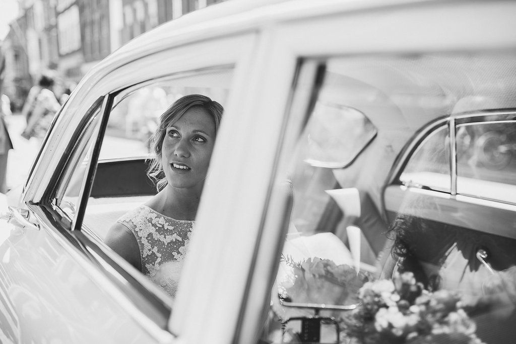 Romantisch en industrieel trouwen in Leiden