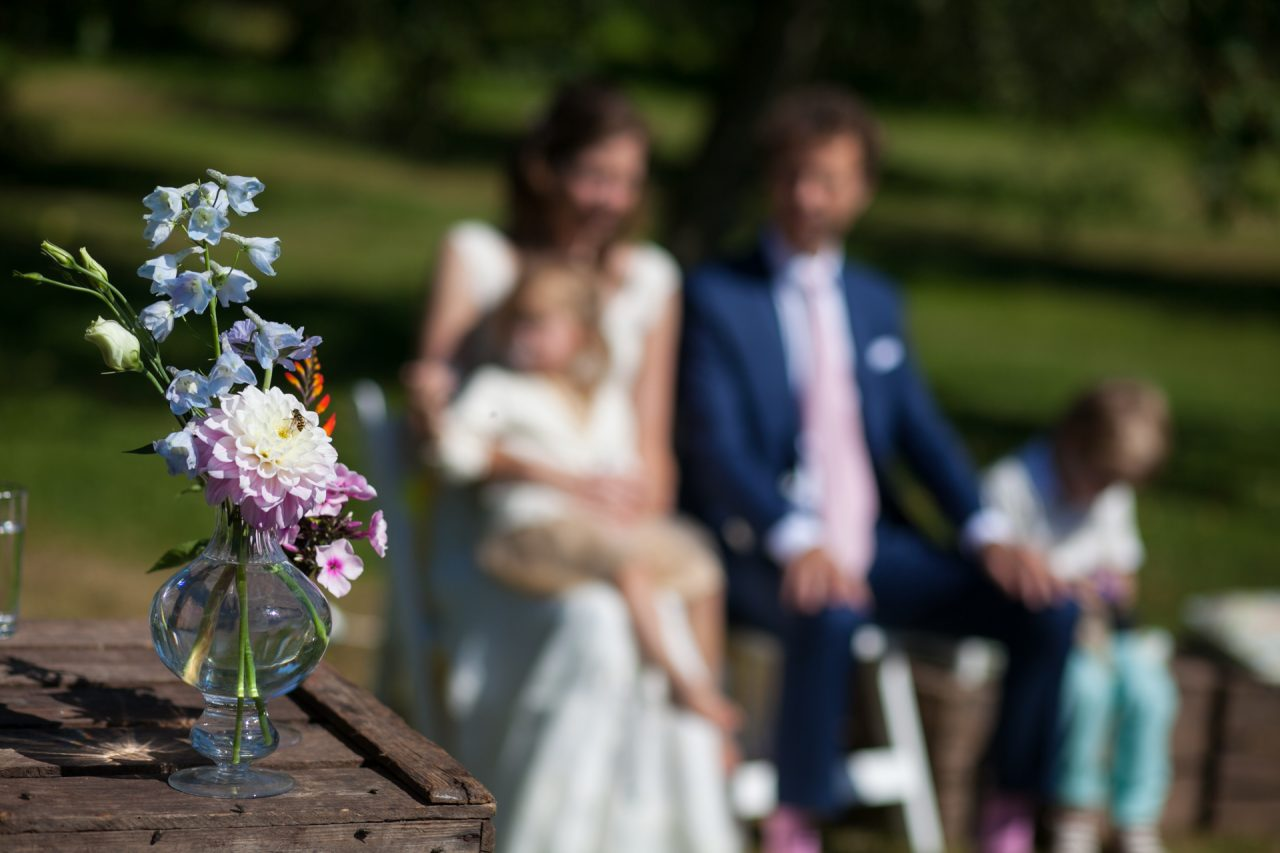 Garden vintage wedding at Landgoed Marienwaerdt