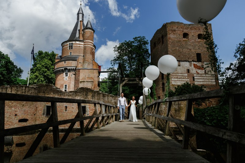 Italian inspired wedding at Duurstede castle