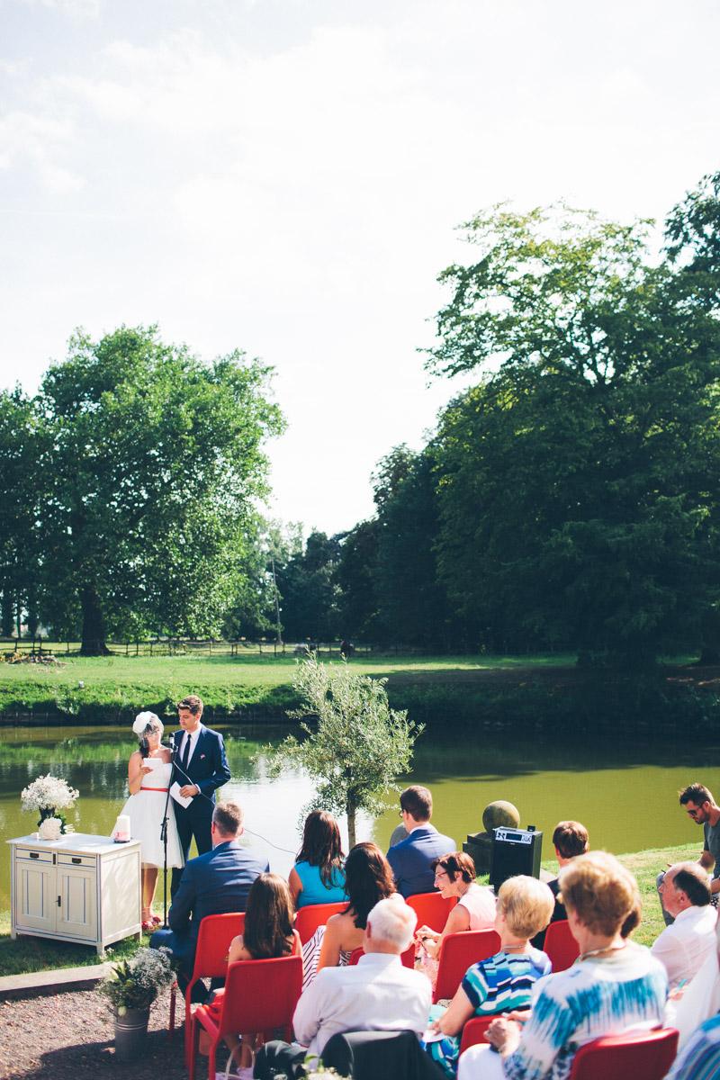 Vintage trouwen bij de Heerlijckyt, Belgie