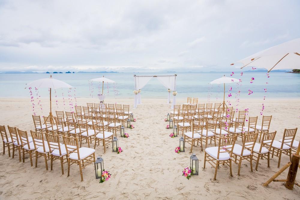 Multiculturele bruiloft op Koh Samui, Thailand