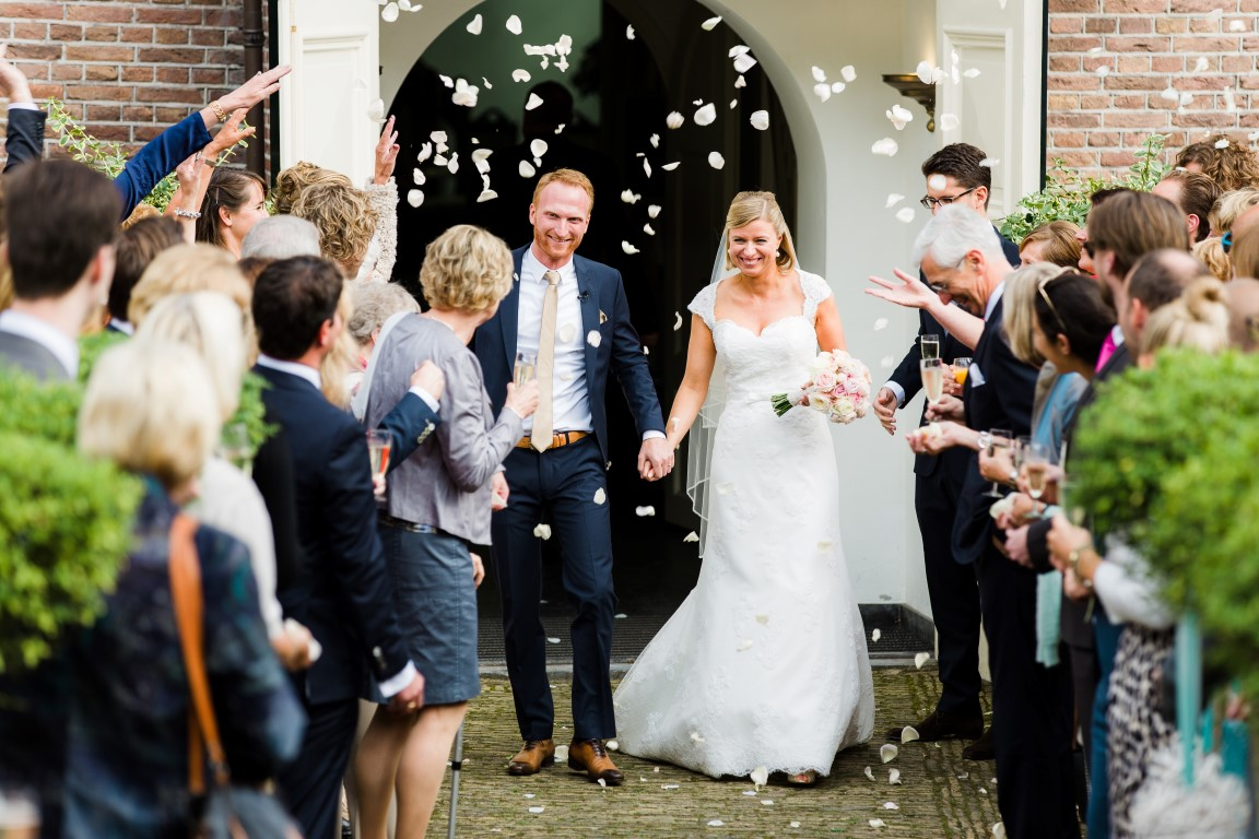 Vintage Chic wedding at the industrial Pompstation, Amsterdam
