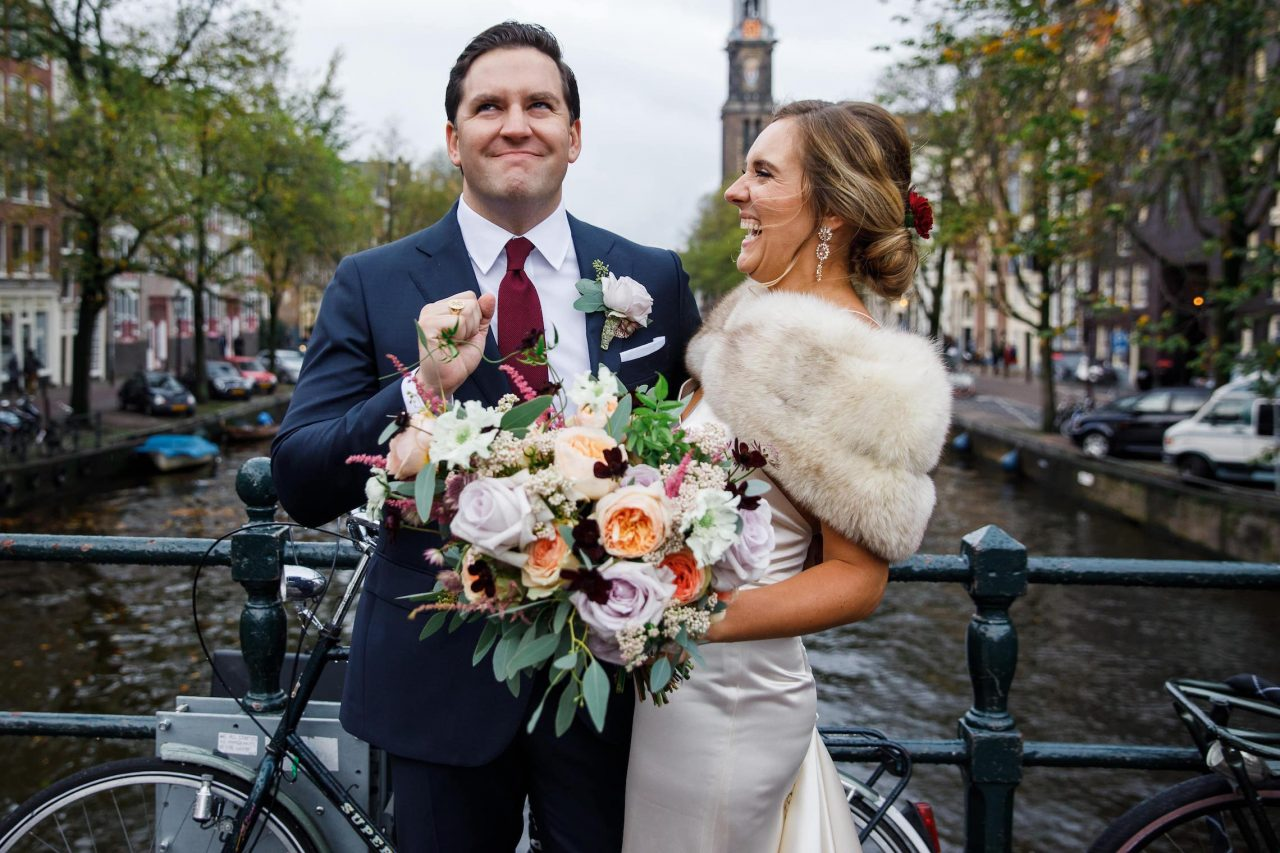Amsterdam wedding at the Pullitzer hotel
