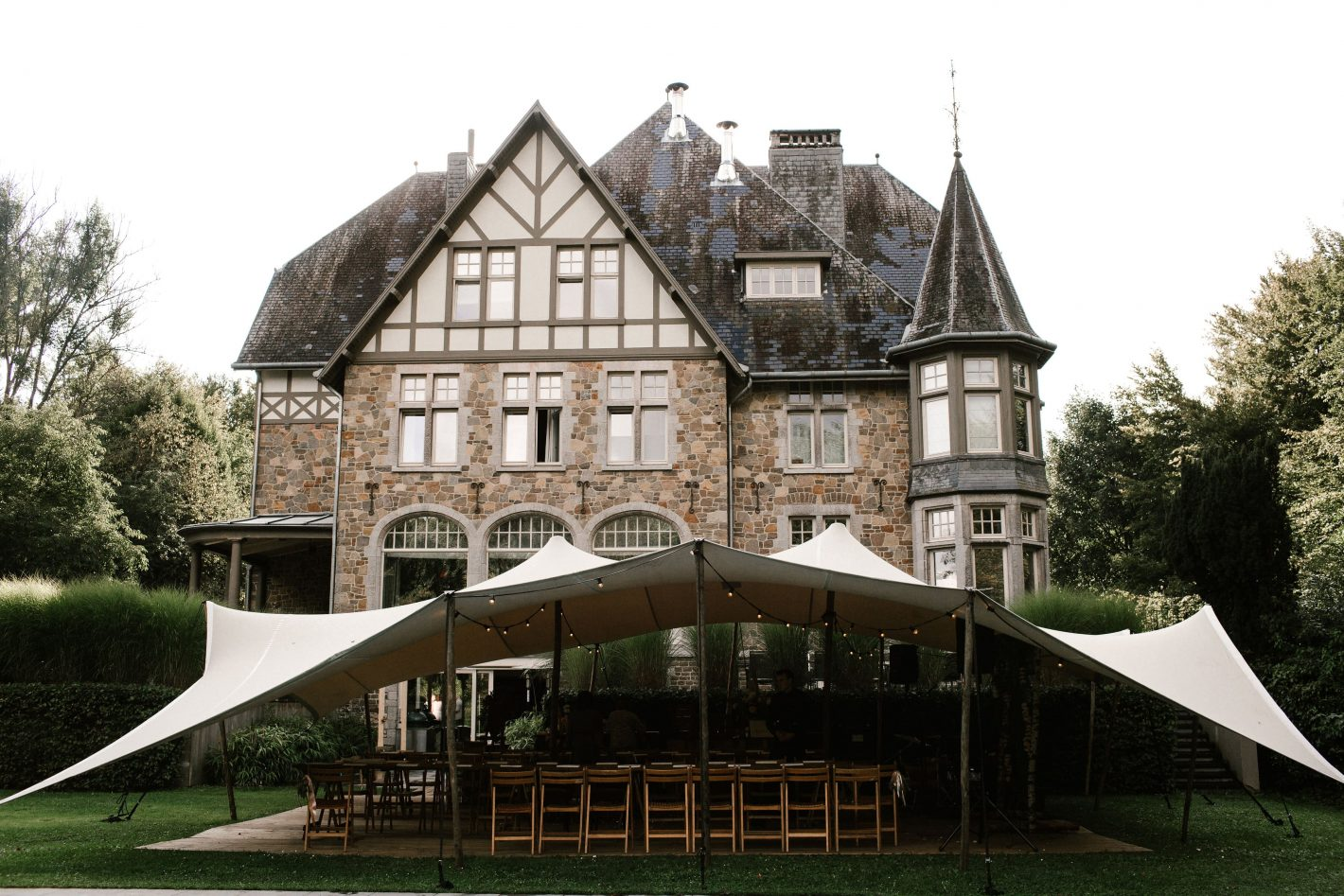 Wedding weekend in de Belgische Ardennen: Val de Targnon