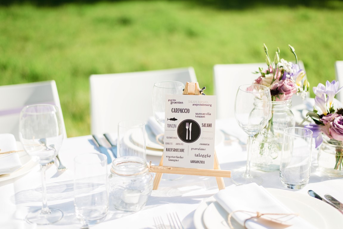 Summer chic wedding at Landgoed Waterland