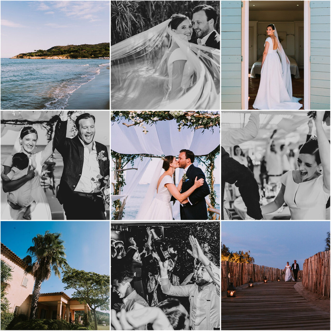 Wedding in the South of France: Sascha & Philip