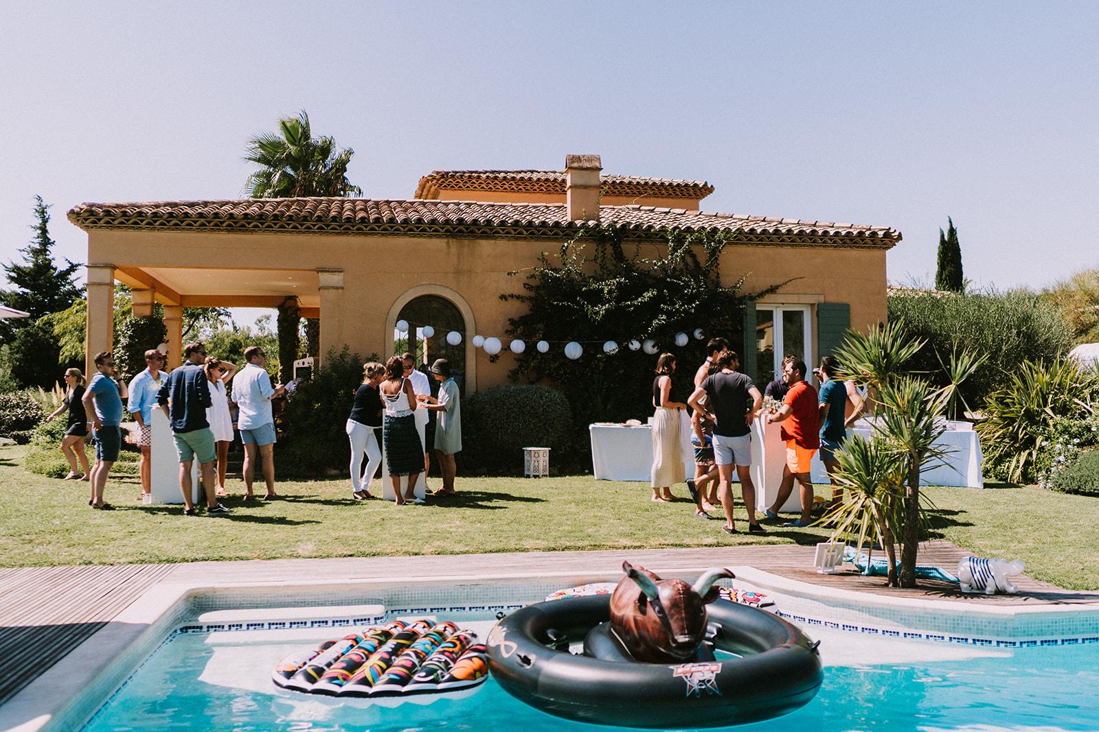 Villa Frankrijk bruiloft