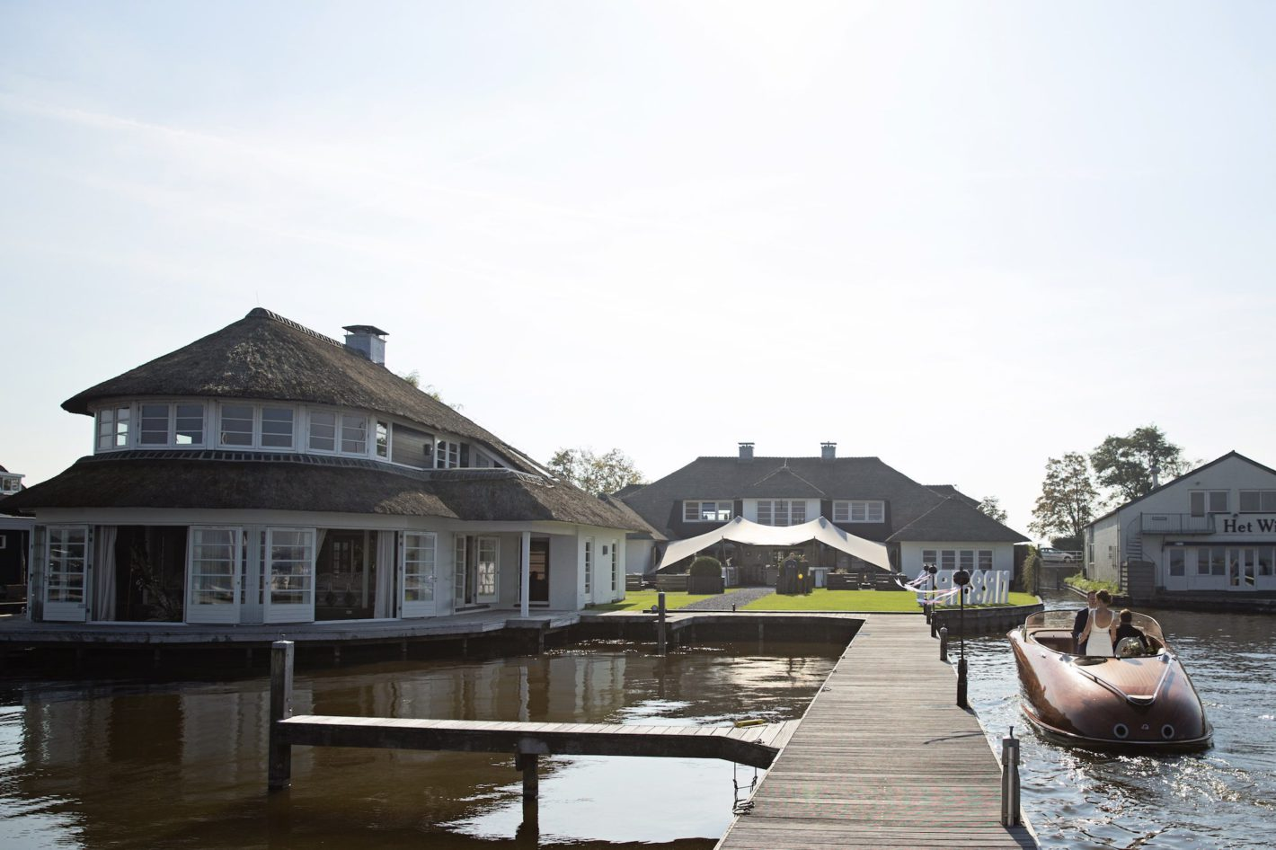 Getting married near the water: Finley het Witte Huis