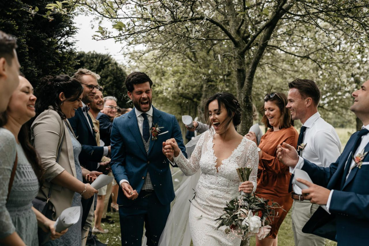 Bohemian wedding at the Hazelhof gardens: Amoy & Jeroen