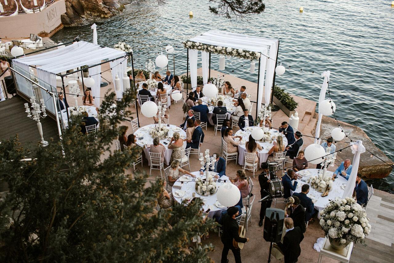 Cote d'azur bruiloft Phylicia & Luc